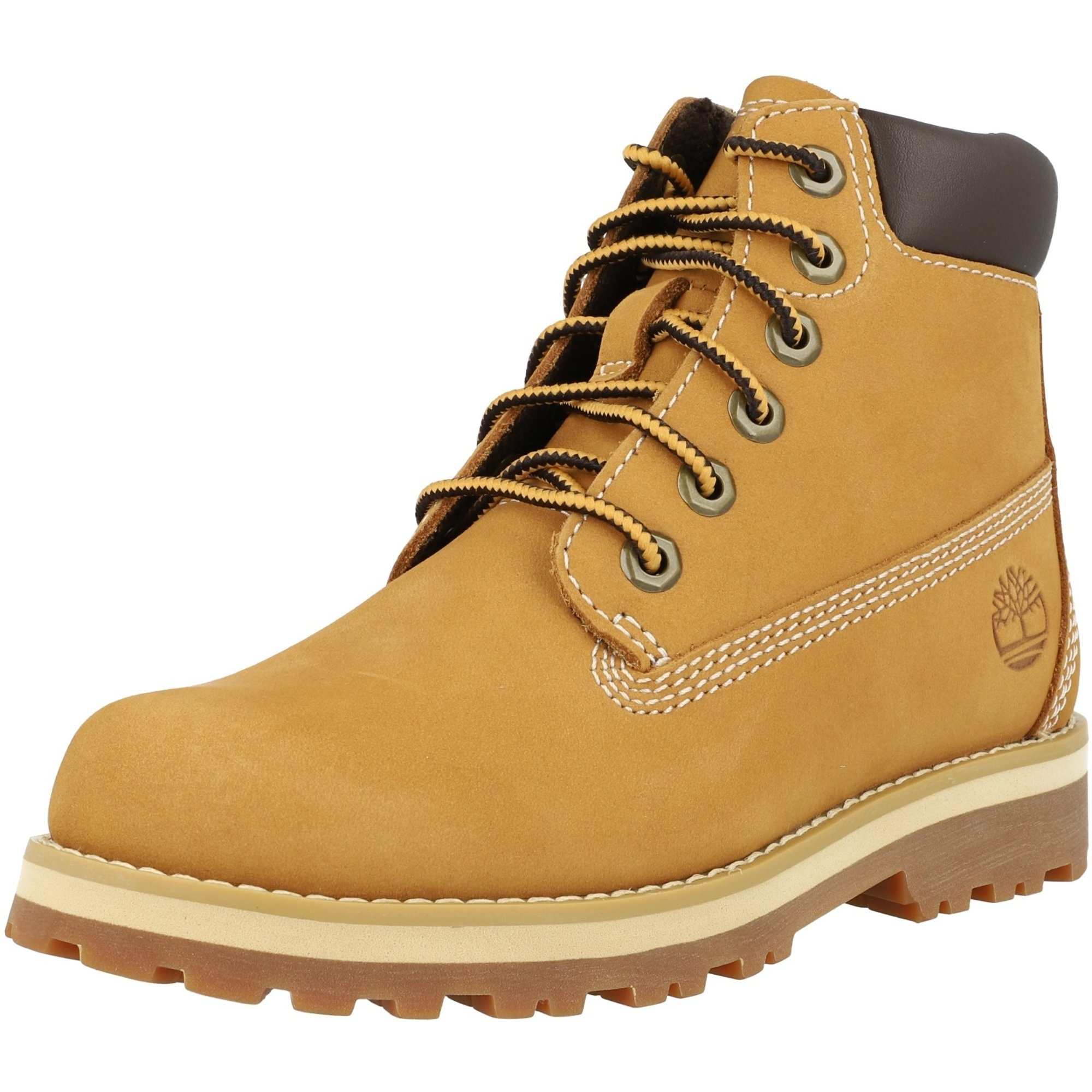 Timberland Courma Kid 6 Inch Side Zip Wheat Nubuck Junior