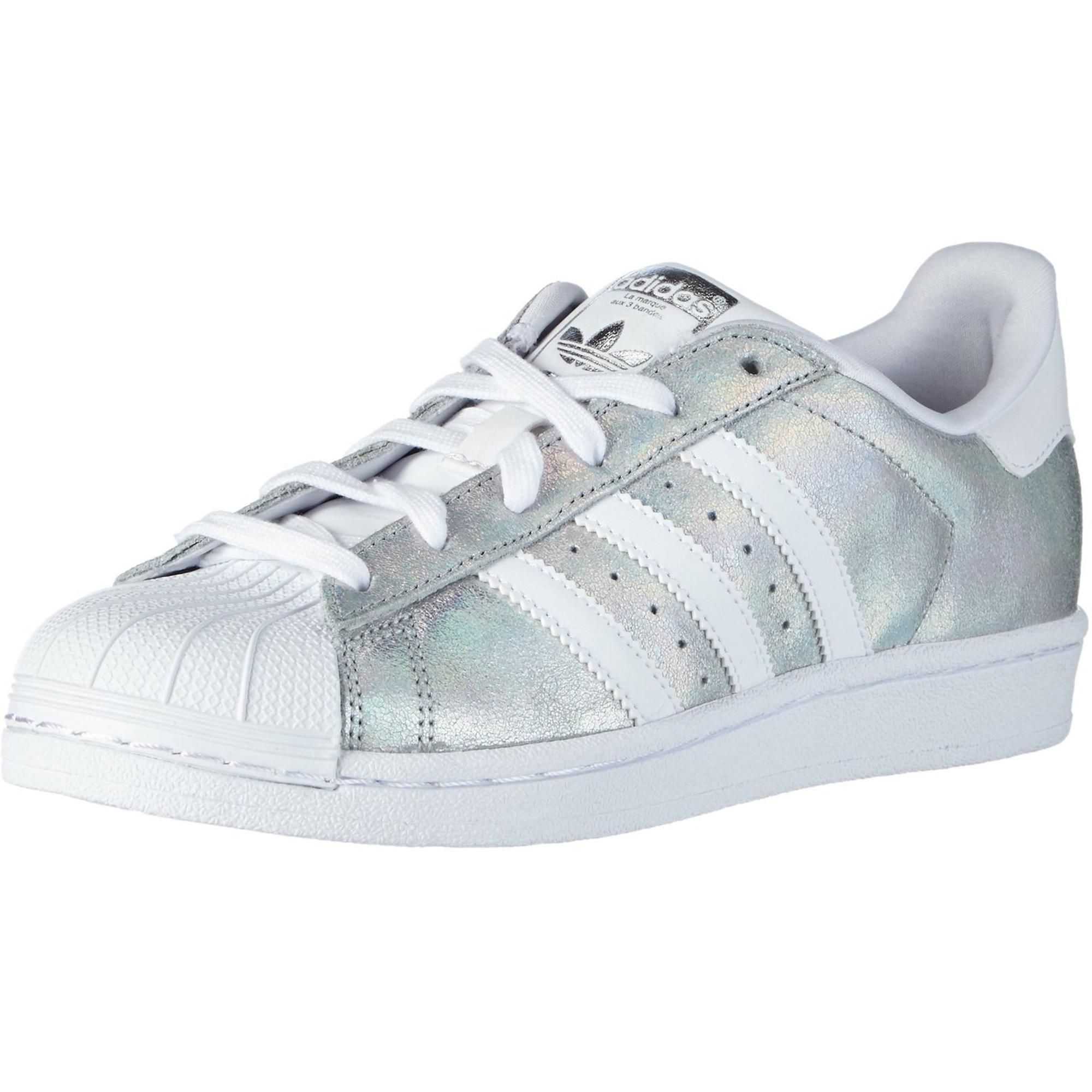 Erwachsene Silber Superstar Leder adidas Originals clJ3K1TF