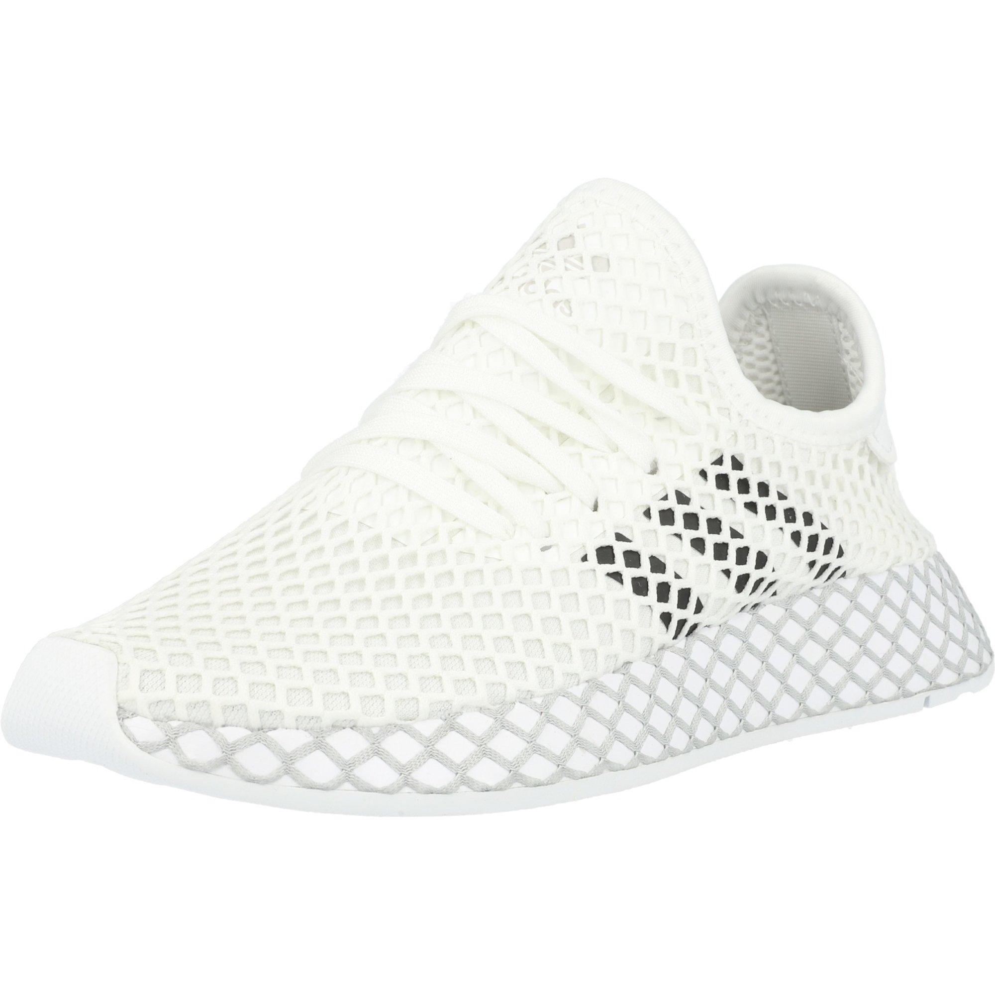 adidas Originals Deerupt Runner J WhiteBlackGrey Two Mesh Youth