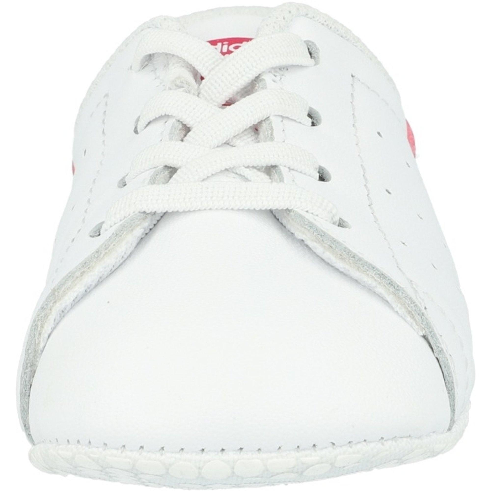 adidas Originals Stan Smith Crib White/Bold Pink Leather