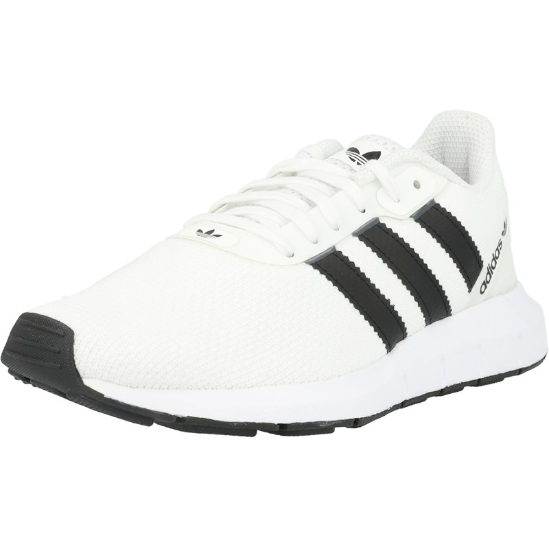 Desnatar borroso Gracias  adidas Originals Swift Run RF J White/Black Textile Junior Trainers Shoes    eBay