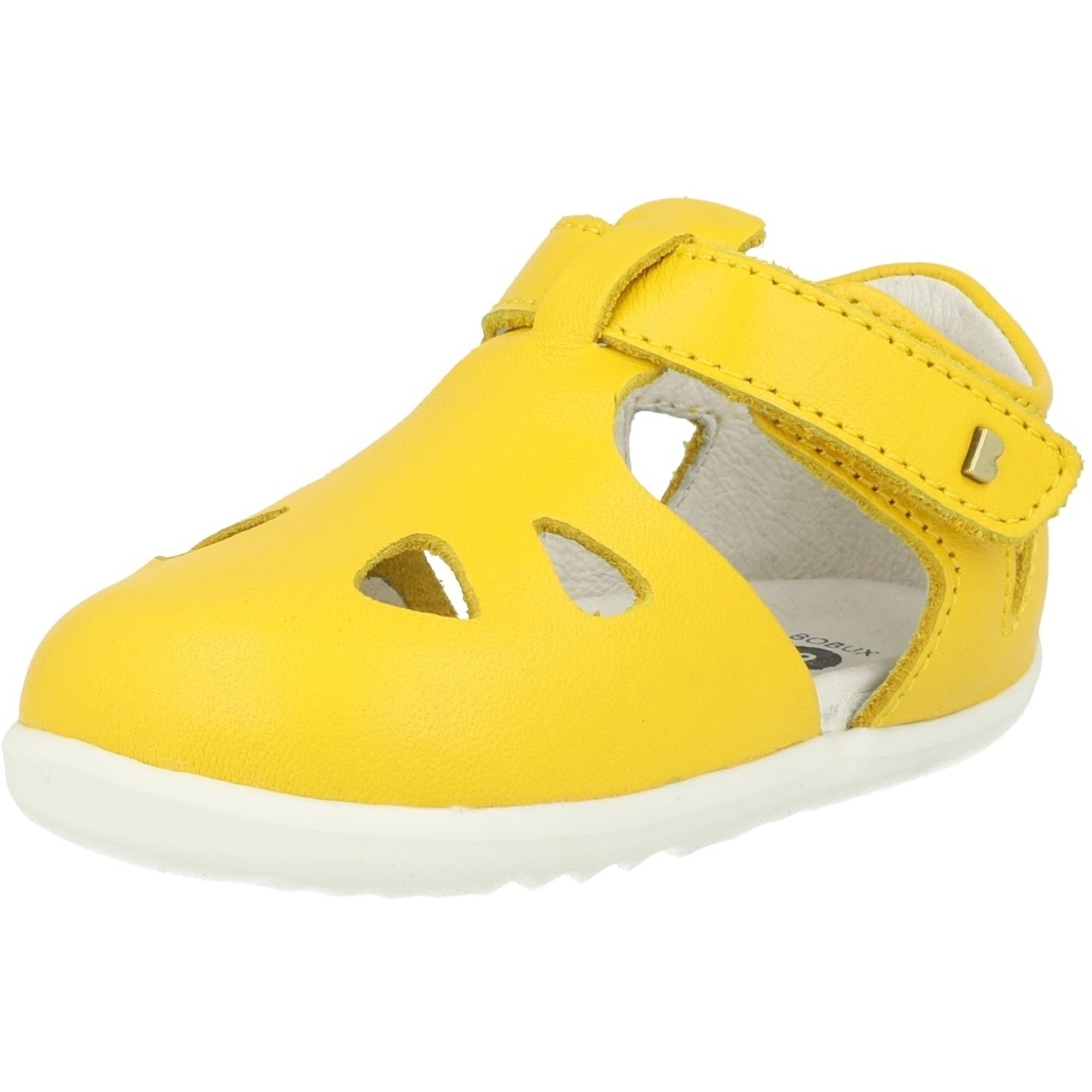 Bobux Step Up Zap Yellow Leather