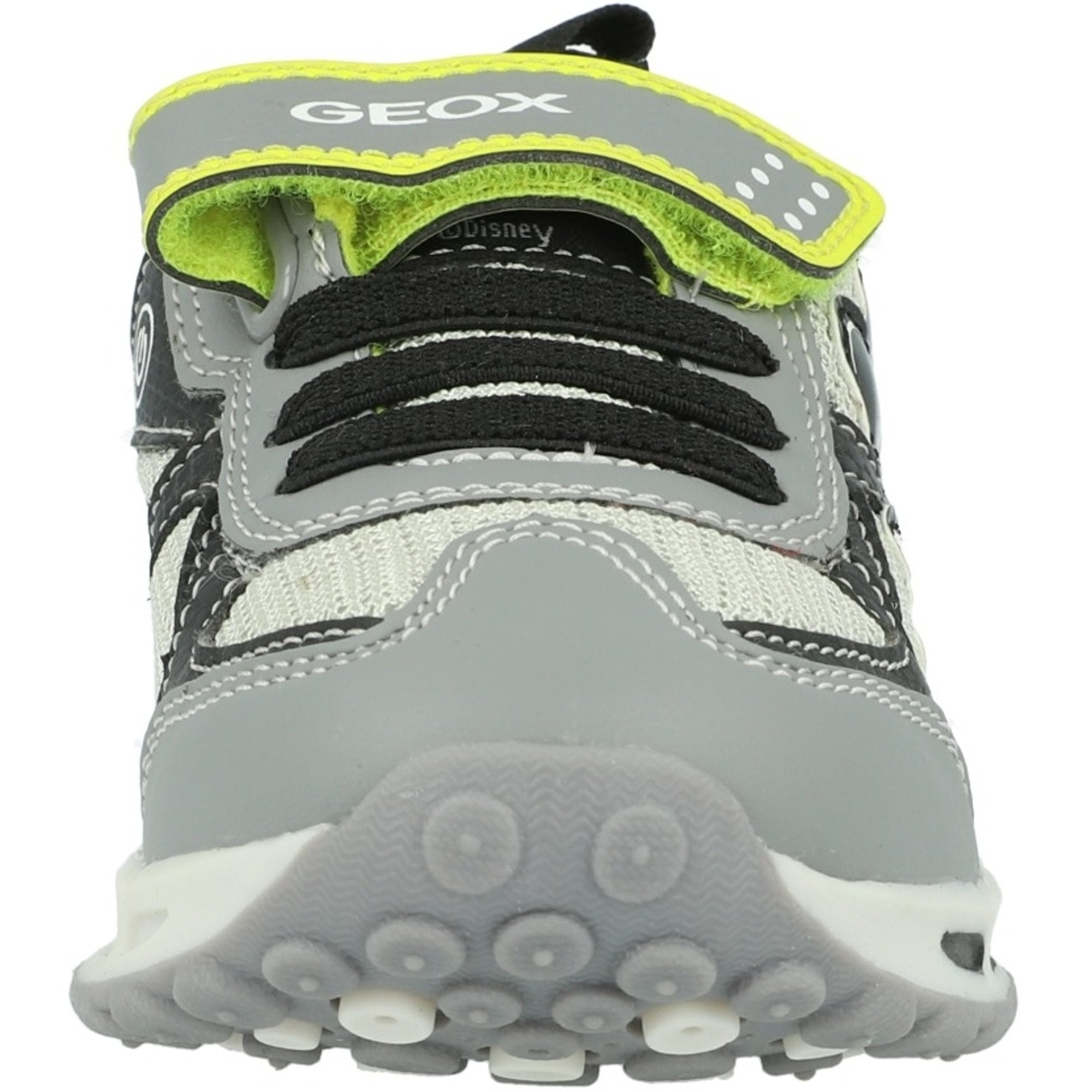 Deportista trompeta sin embargo  Geox J Shuttle A Grey/Lime Mesh - Trainers Shoes - Awesome Shoes