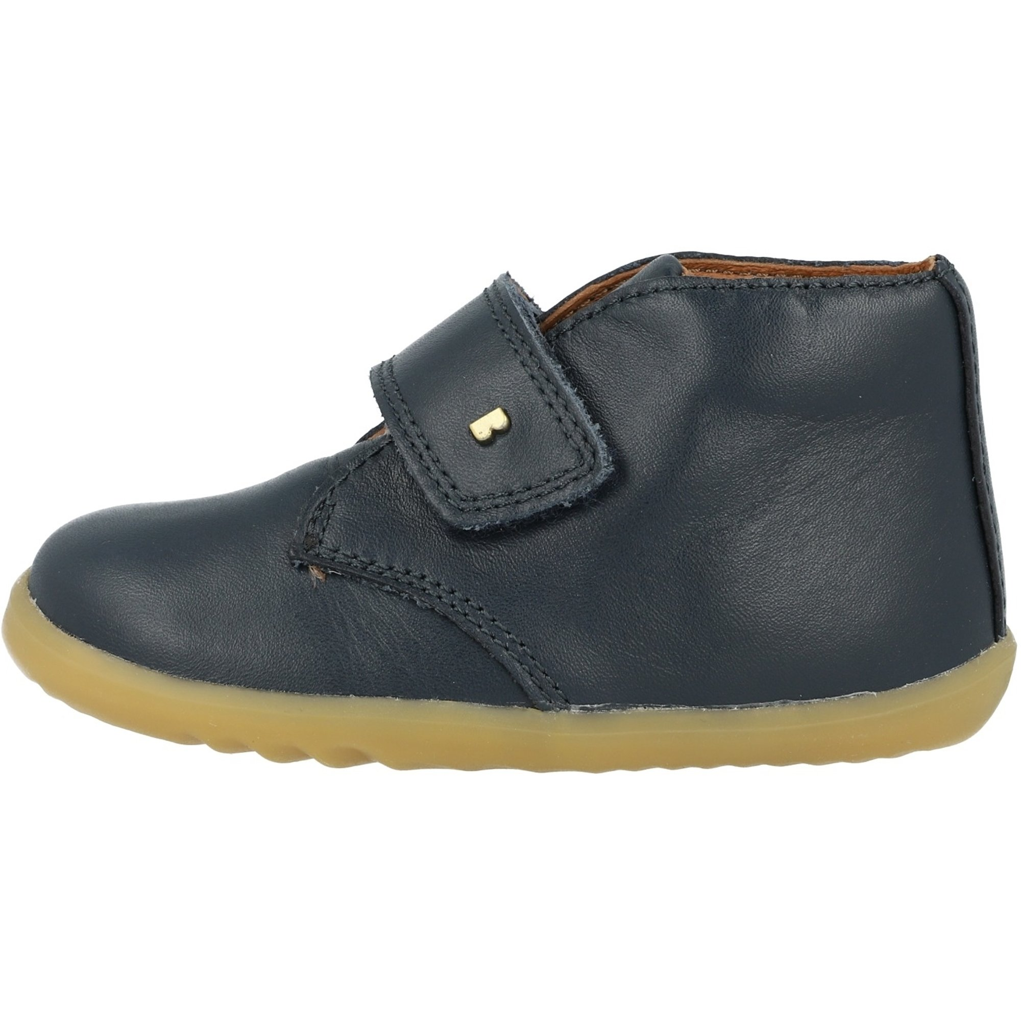 Bobux Step Up Desert Navy Leather Baby Ankle Boots