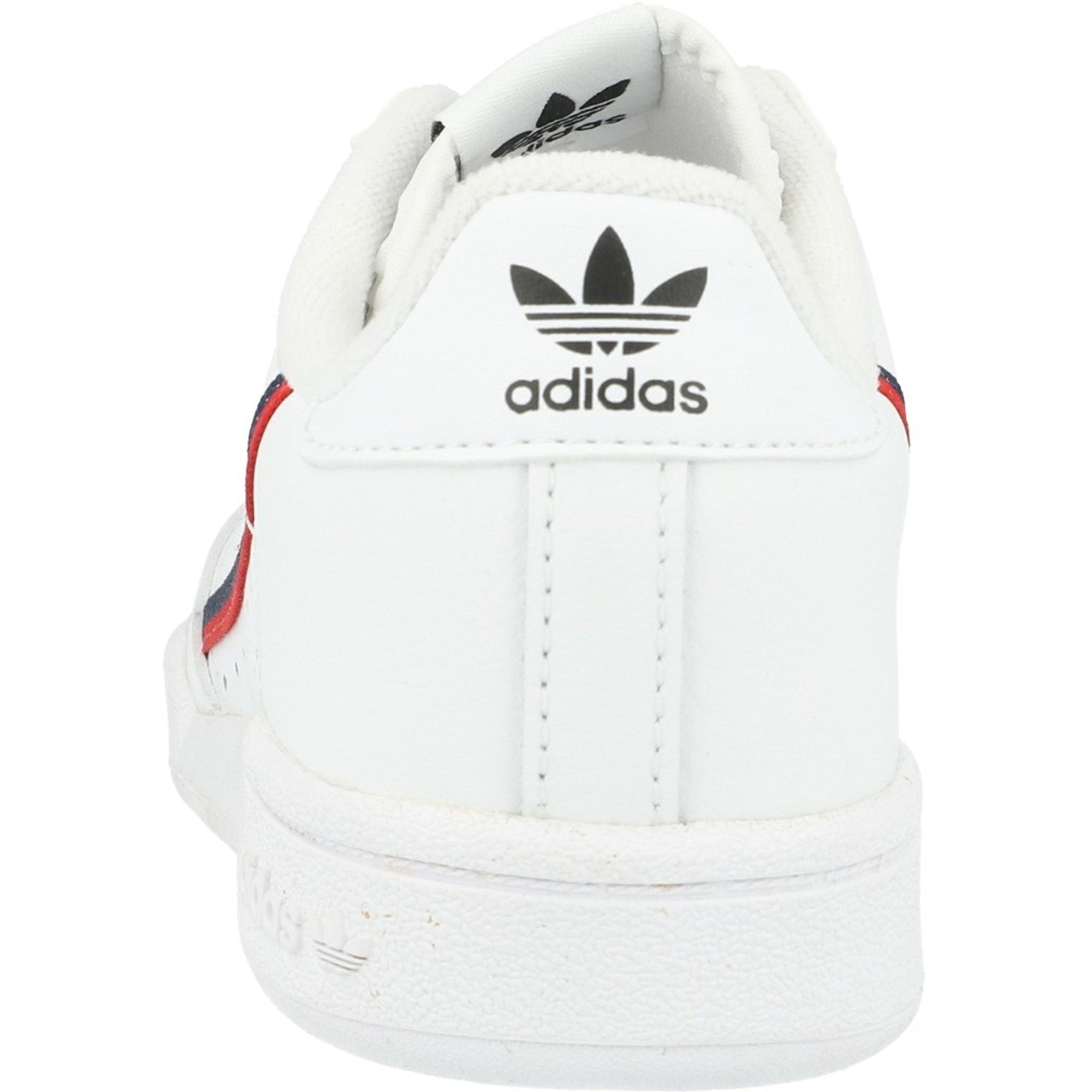 adidas Originals Continental 80 C Bianca Pelle Bambino