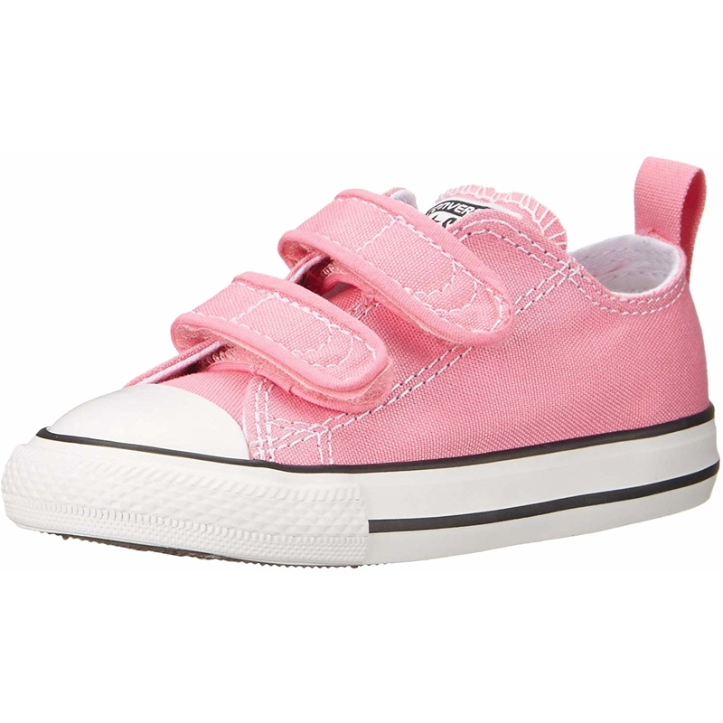 Details about Converse Chuck Taylor All Star 2V Pink Textile Baby Trainers Shoes