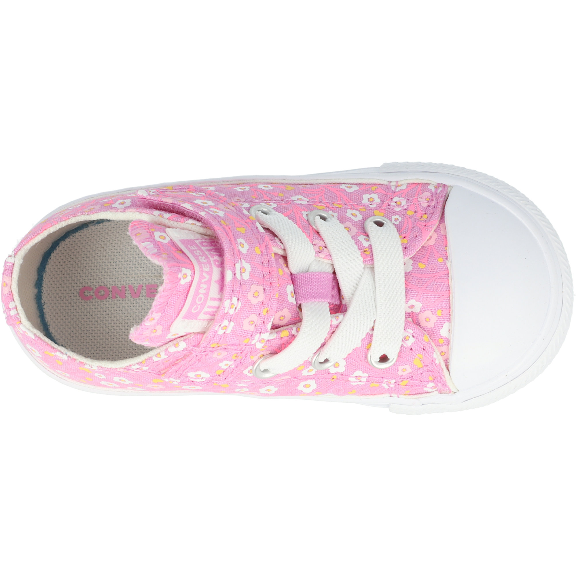 Converse Chuck Taylor All Star 1V Ditsy Floral Ox Peony Pink/White Canvas Infant