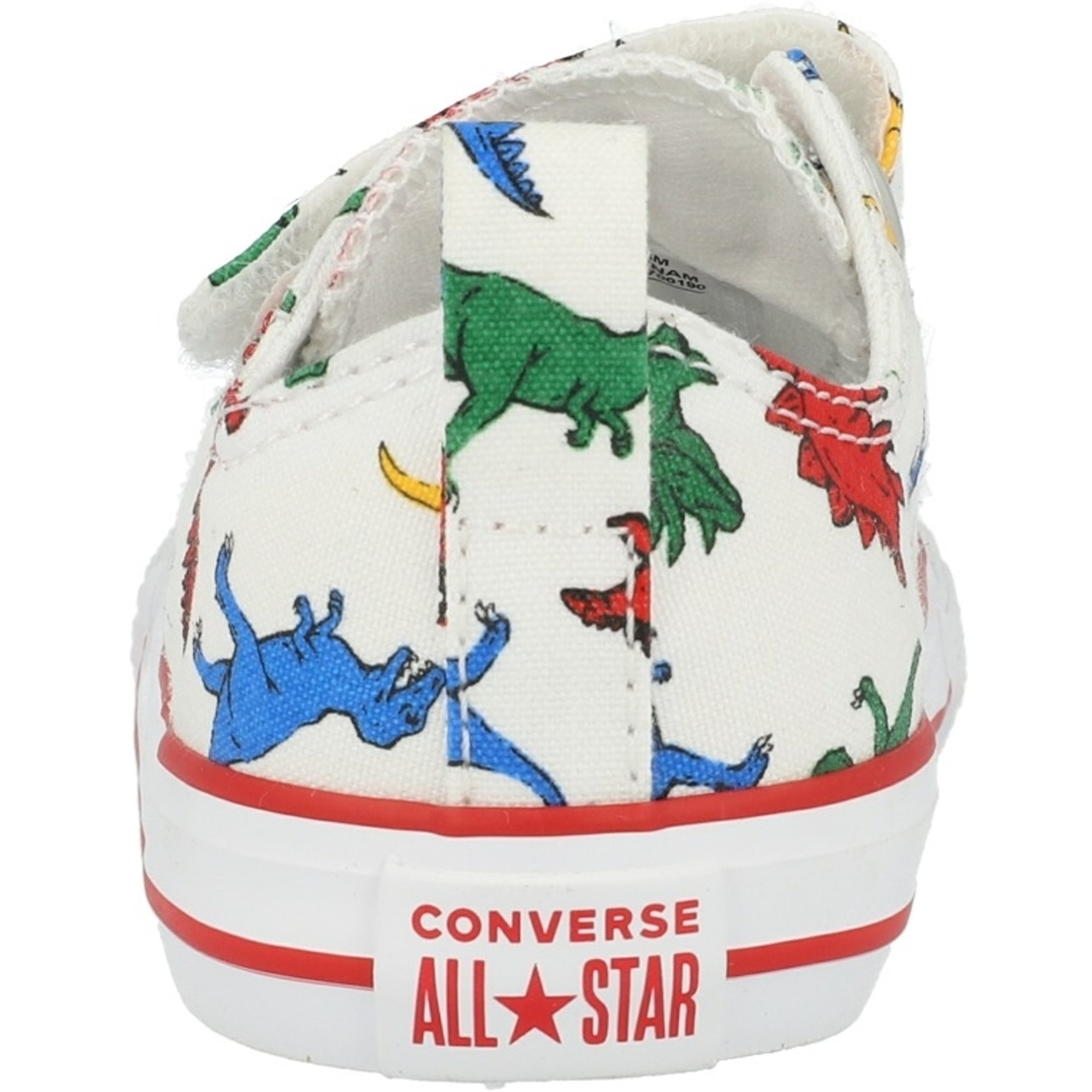 Converse Chuck Taylor All Star 2V Ox Dinoverse White/Totally Blue Canvas