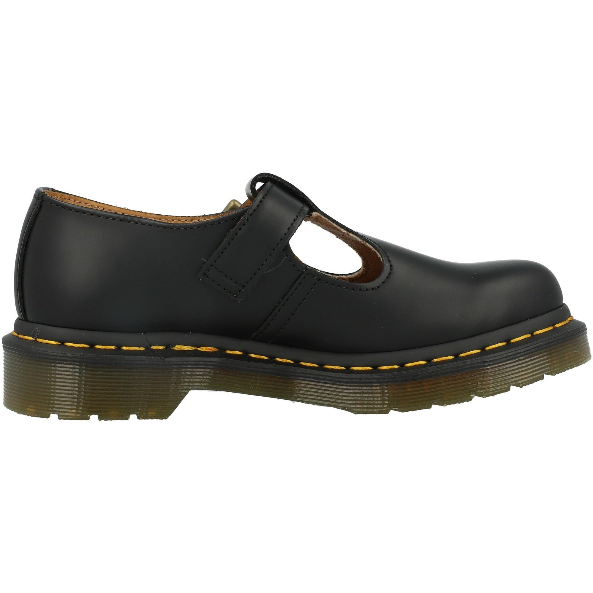 Dr Martens Polley Black Leather Adult