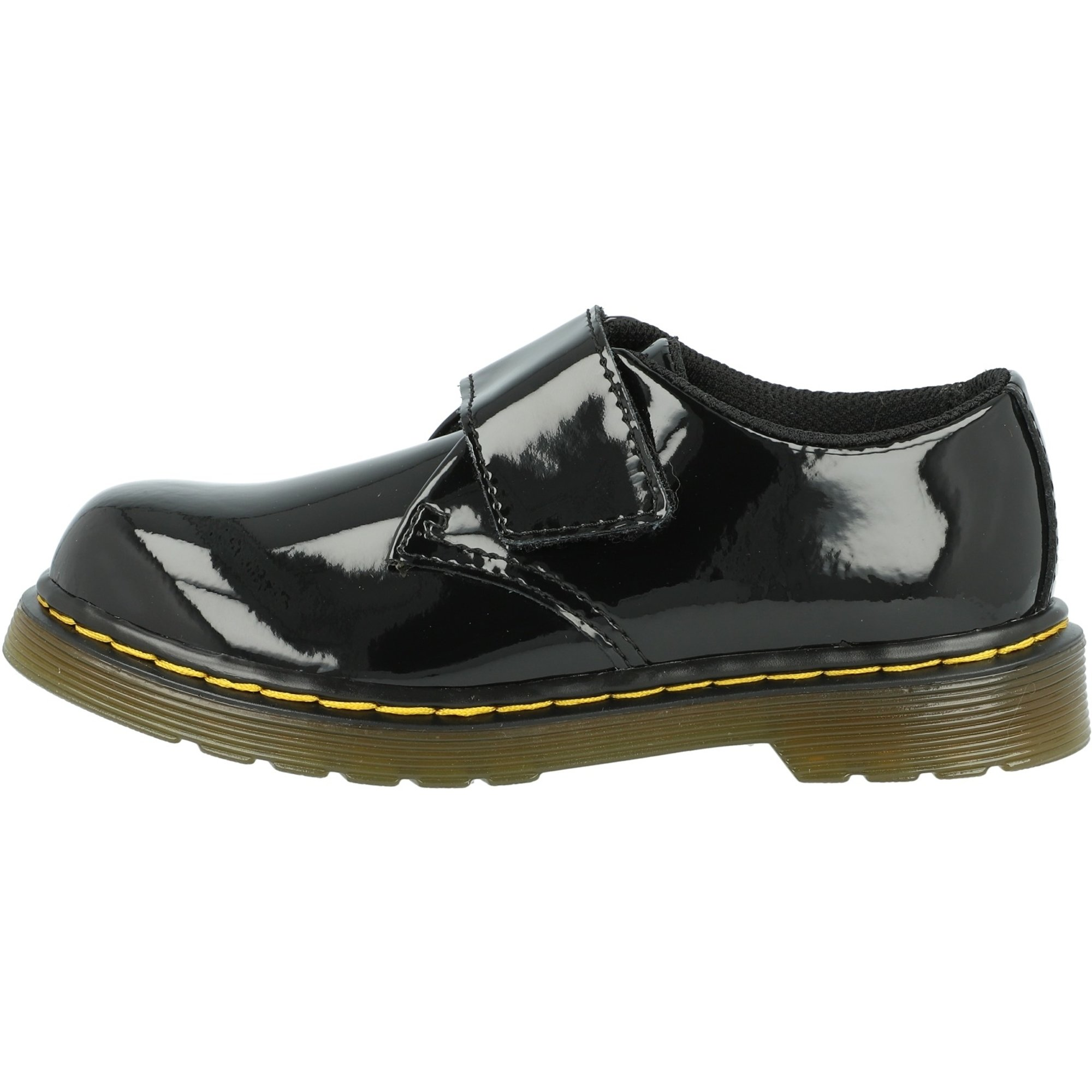 Black Lelli Kelly Juniors Taylor Patent Leather Shoes