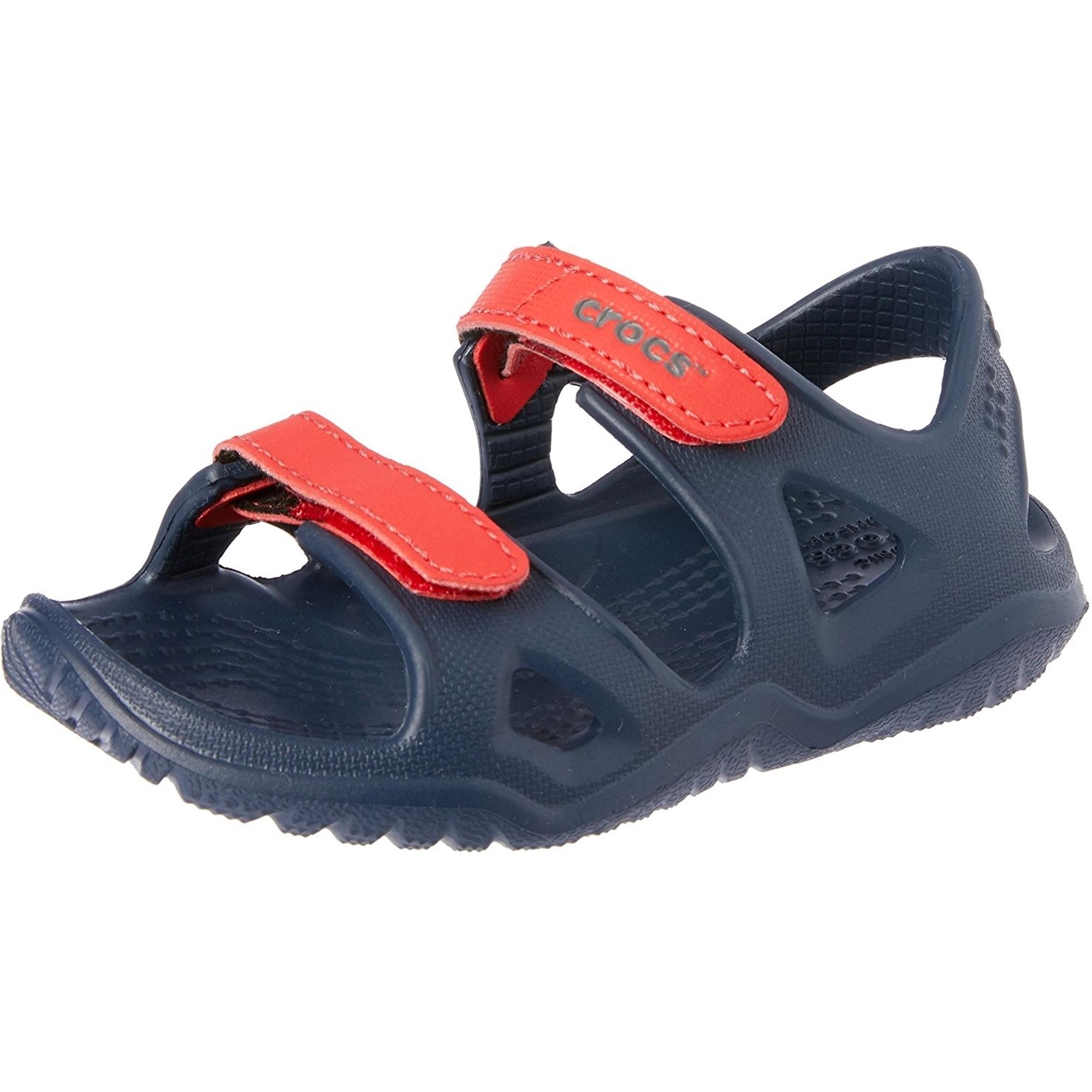 Crocs Swiftwater River Sandal K Navy Croslite Infant