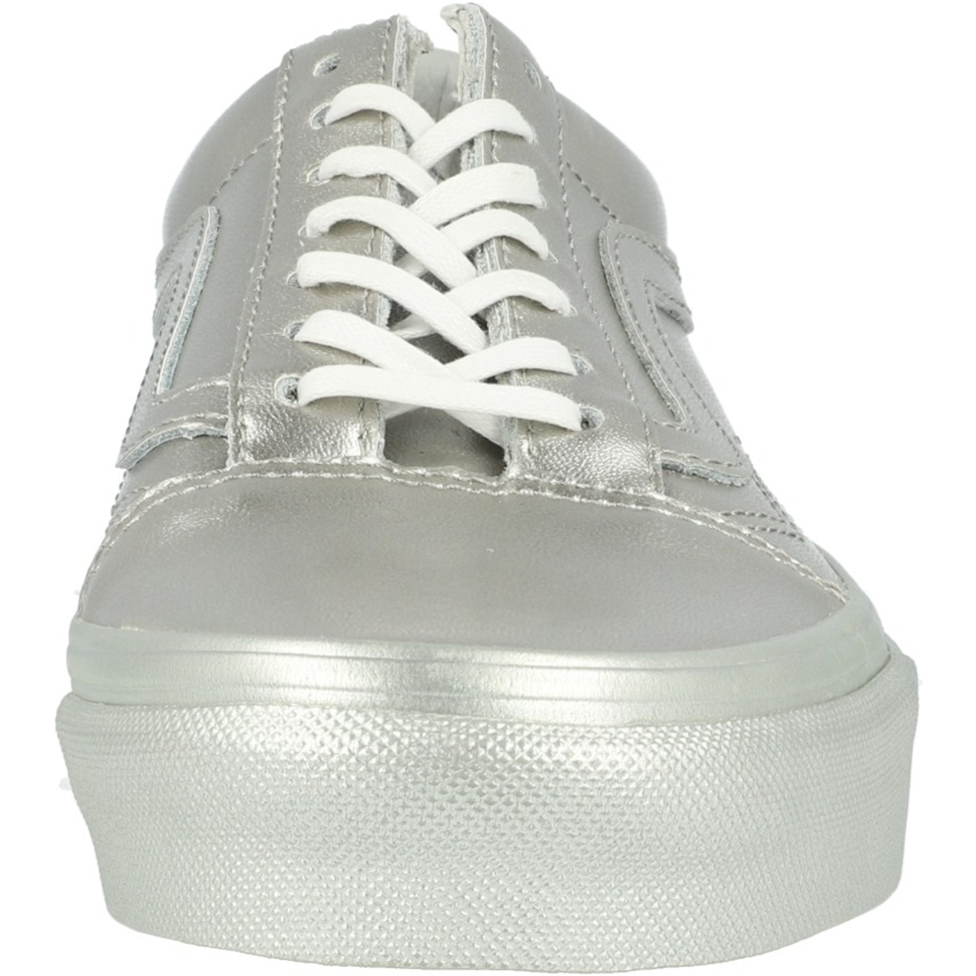 Vans UA Old Skool Silver Metallic Textile Adult