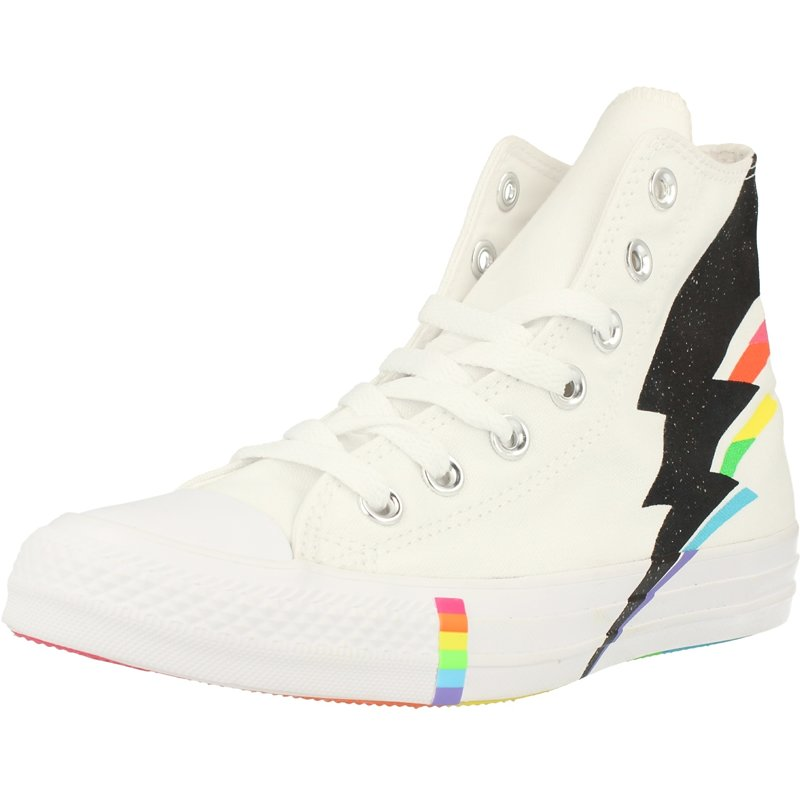 Details about Converse Chuck Taylor All Star Pride Hi WhiteBlackMulti Canvas Adult