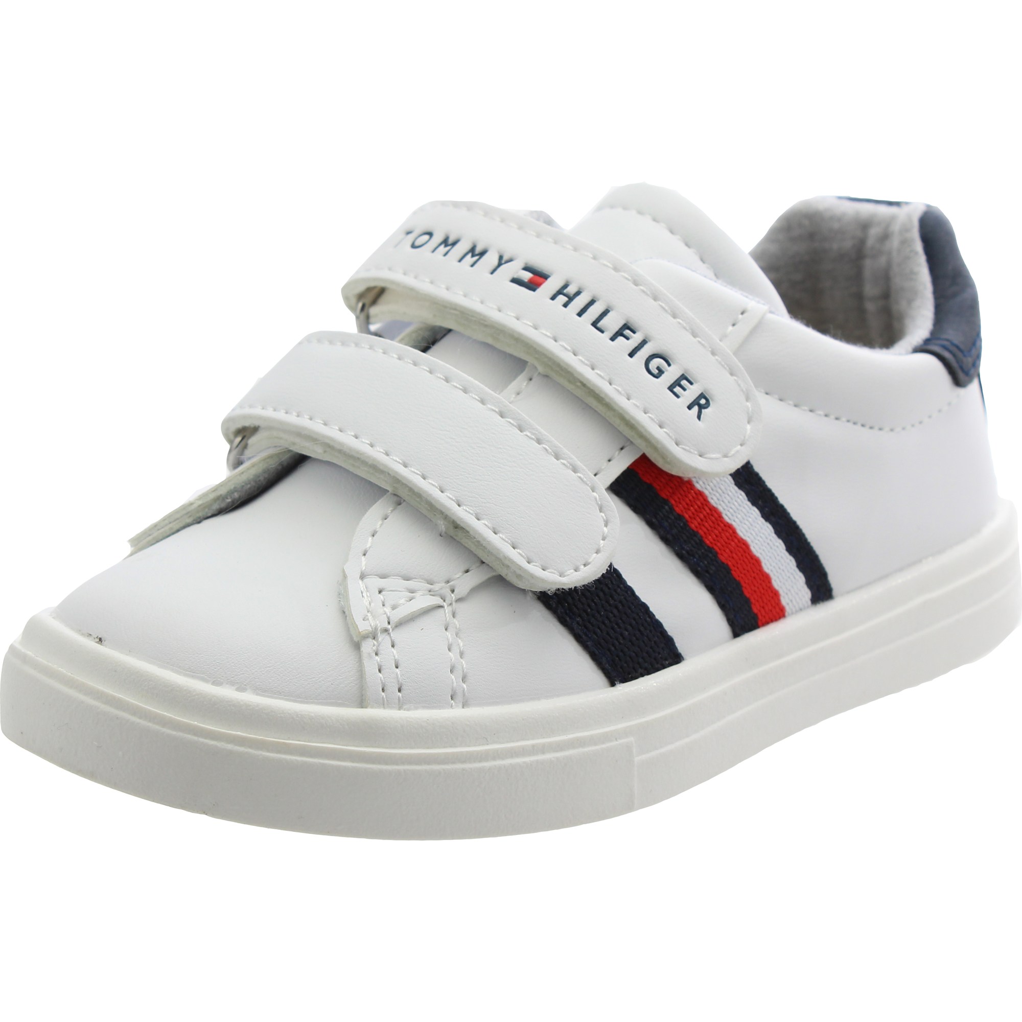 online shop shopping on feet at Tommy Hilfiger Trainer White Leather - Trainers Shoes - Awesome Shoes