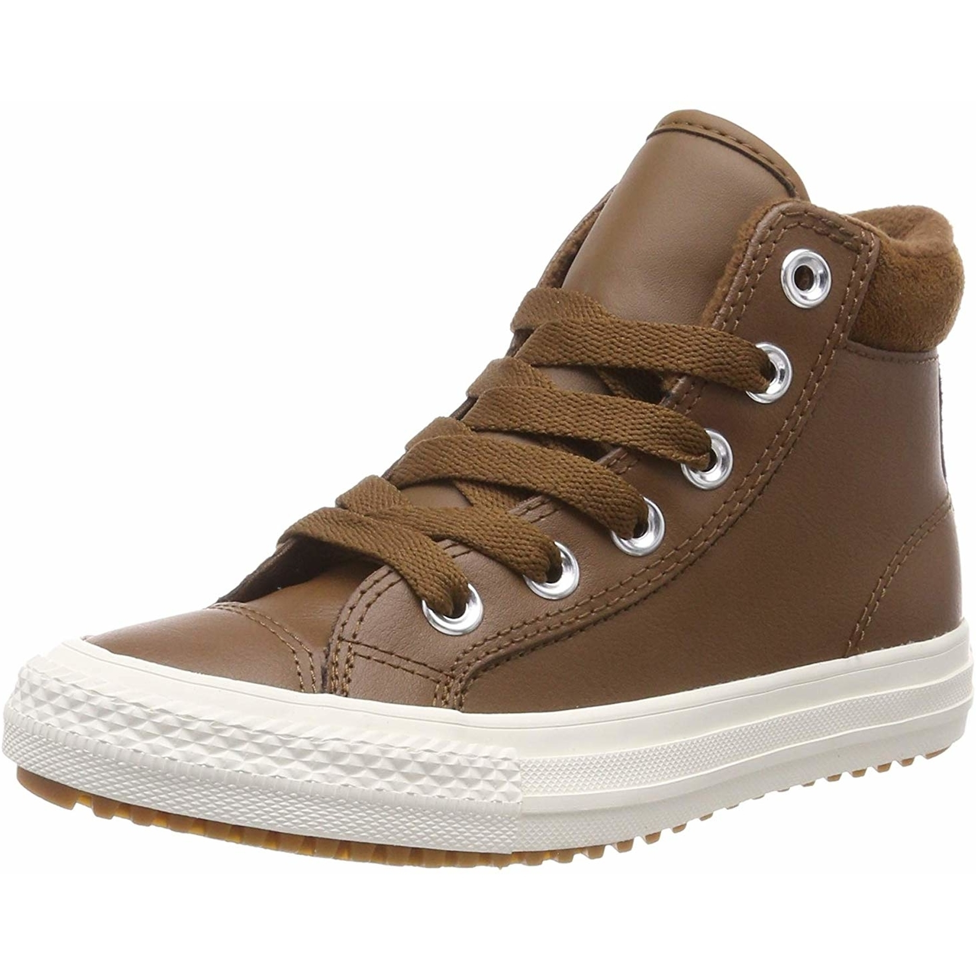 converse donna pelle all star marrone