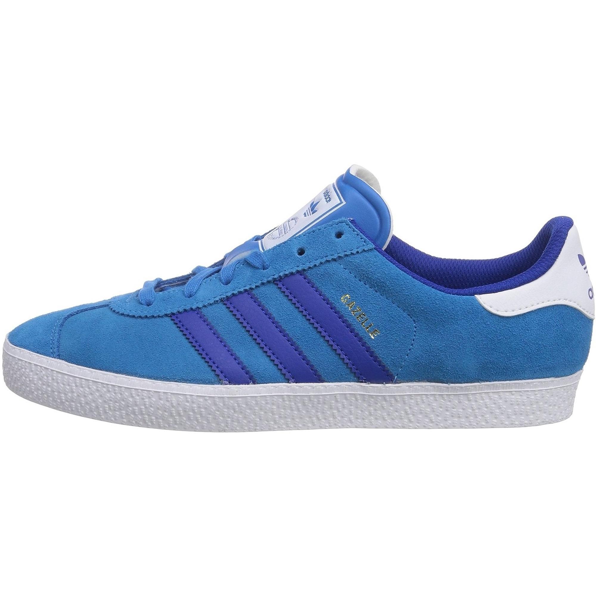 adidas Originals Gazelle 2 Blu Solare Scamosciato Gioventù